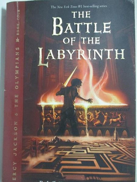 【書寶二手書T1/原文小說_G1B】The Battle of the Labyrinth_Rick Riordan