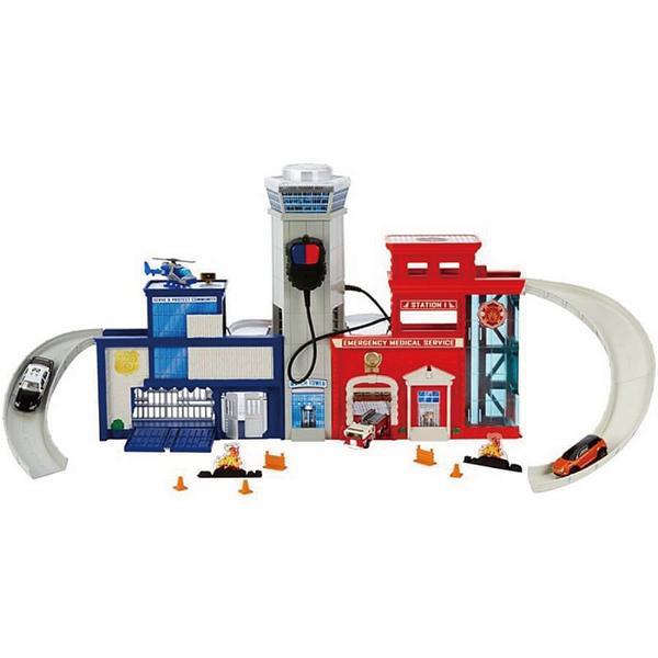 火柴盒小汽車Matchbox 救援基地組