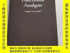 二手書博民逛書店Functional罕見Analysis(泛函分析)扉頁有名字 和章Y6318 Albert Wilansky