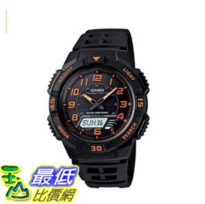 [8美國直購] 手錶 Casio Mens Slim Solar Multi-Function Analog-Digital Watch AQS800W-1B2VCF