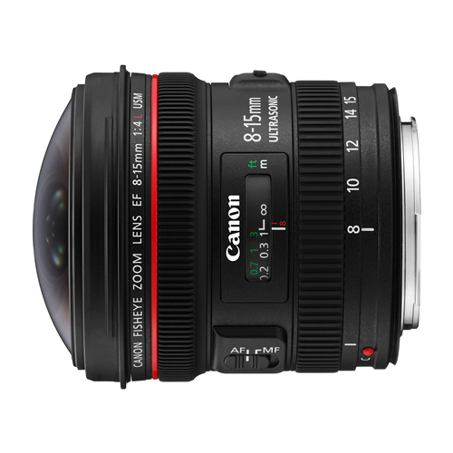 名揚數位 Canon EF 8-15mm F4 L FISHEYE USM 佳能公司貨 (分12.24期0利率)