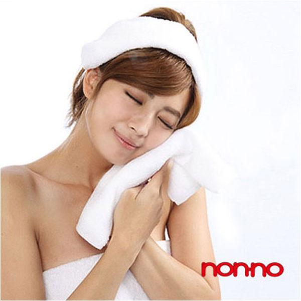 儂儂non-no 最乾淨的毛巾 (加厚款) 白色 2條/組