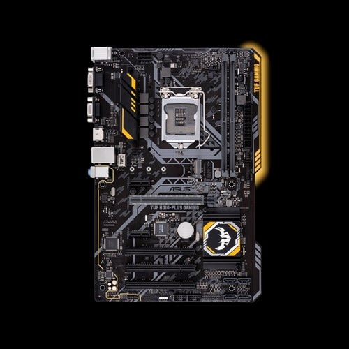 ASUS 華碩 TUF H310-PLUS GAMING INTEL 1151腳位 主機板