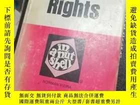 二手書博民逛書店CIVIL罕見RIGHTS IN A NUTSHELLY9837
