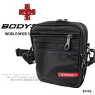 黑色防水機能小側背包/腰包  AMINAH~【BODYSAC B1502】