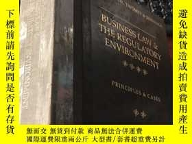 二手書博民逛書店business罕見l aw & the regulatory environment (thirteenth e