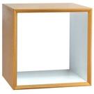 【藝匠】魔術方塊原木色大鏤空櫃收納櫃 家具 組合櫃 廚具 收藏 置物櫃 櫃子 小櫃子