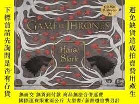 二手書博民逛書店Game罕見of Thrones: House Stark Deluxe Stationery SetY410
