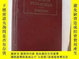 二手書博民逛書店SYNOPSIS罕見OF PEDIATRICS (With 15
