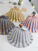 兒童漁夫帽春秋1-3歲寶寶帽子薄款遮陽防曬小黃男童女童嬰兒盆帽