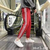 ulzzang運動褲子夏帥氣女生學生韓版潮原宿bf風寬鬆嘻哈顯瘦百搭 潔思米