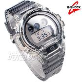 G-SHOCK DW-6900SK-1 多功能 電子錶 半透明 灰色橡膠 軍風 DW-6900SK-1DR CASIO卡西歐