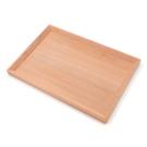 芬多森林|台灣檜木多用途托盤-長方形,原木無上漆餐盤,有智慧居家全實木收納生活淺盤子