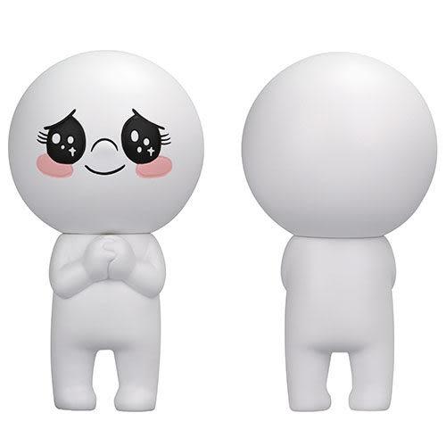 LINE角色人偶 - 饅頭人(大眼)_ TA99835