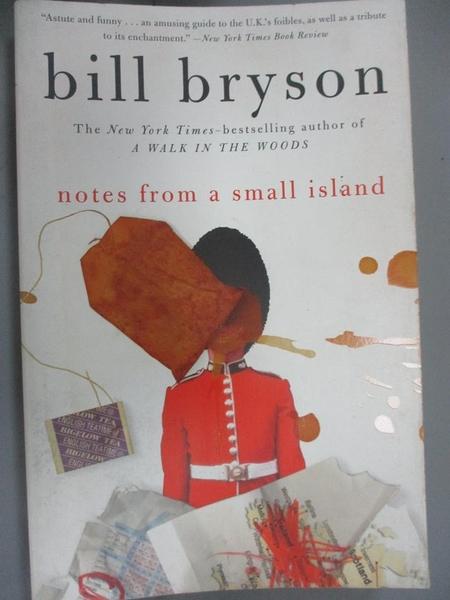 【書寶二手書T1/原文小說_LPE】Notes from a Small Island_Bill Bryson