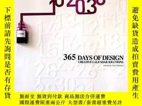 二手書博民逛書店365罕見Days Of Design Creative Calendar Solutions-365天設計創意日