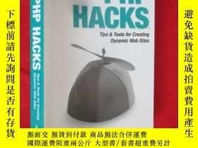 二手書博民逛書店PHP罕見Hacks: Tips & Tools For Cre