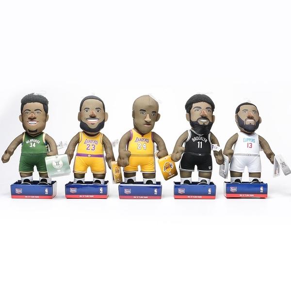 NBA 絨布娃娃 布偶 禮物 裝飾 KOBE 湖人 快艇 布魯克林 (布魯克林) TOY-