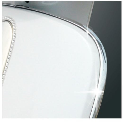 KYMCO 光陽機車 MANY50/100/110電鍍邊緣飾條套組(銀色)