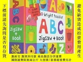 二手書博民逛書店Bright罕見Toddler ABC Jigsaw and B