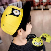 ※現貨【童】小黃人眼睛刺繡棒球帽 2款 4色【E297245】