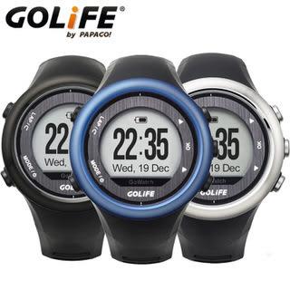 PAPAGO! GOLiFE GoWatch 820i GPS藍牙中文三鐵運動腕錶 黑 / 銀 / 藍色