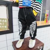 中大尺碼 男童休閒長褲韓版潮時尚小腳褲子 WD3488【衣好月圓】