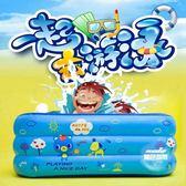 充氣泳池 寶寶游泳池充氣家用室外保溫超大加厚家庭兒童兒童大人海洋球泳池T 1色
