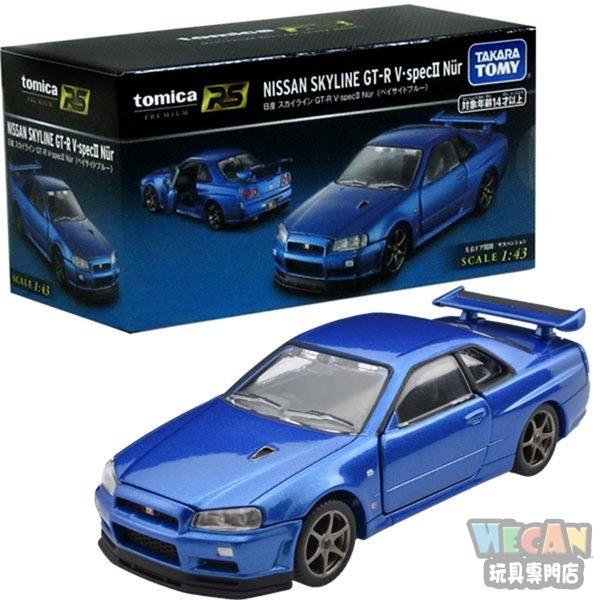 TOMICA多美小汽車黑盒 PREMIUM RS 日產SKYLINE GT-R V. SEPCII NUR 13089