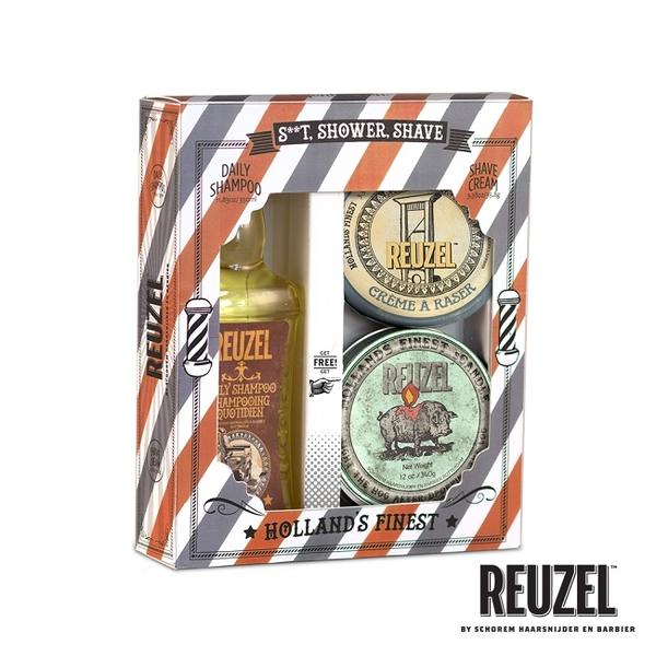 REUZEL Shower&Shave 潔淨香氛禮盒組