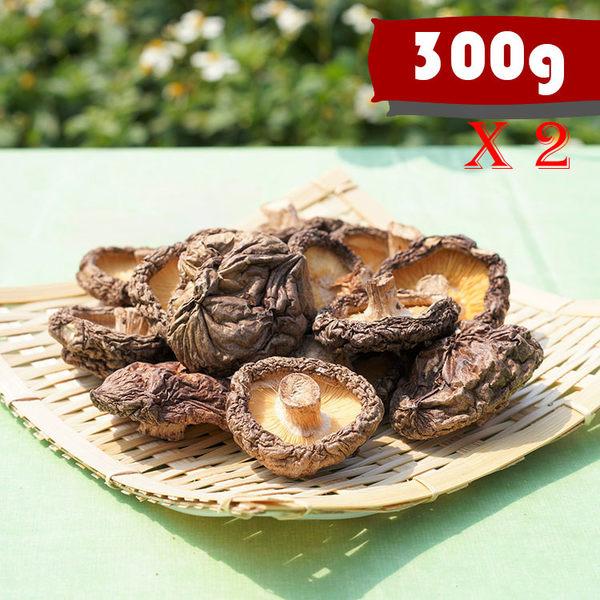 新社香菇 (小菇-300g) x 2包  全館免運 [菇見幸福]