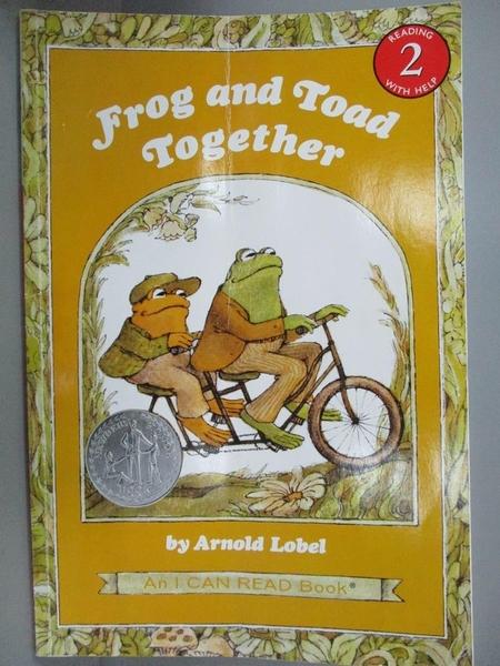 【書寶二手書T4/少年童書_KJQ】Frog and Toad Together_Lobel, Arnold