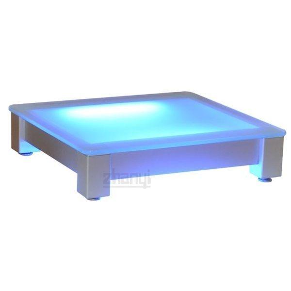 展藝 Zhanyi ZY504 噴砂強化安全玻璃主機架/展示燈箱架