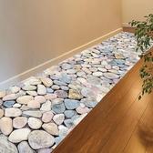 3D立體地瓷磚板貼紙臥室衛生間地面地磚房間裝飾防水墻紙自粘墻貼