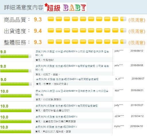 康貝兒(N) 乳酸菌 益生菌-超級BABY☆公司貨 每周都會進貨喔 每盒90小包