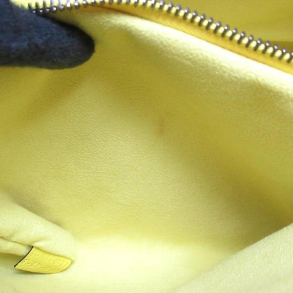 CELINE 賽琳 黃色牛皮手提笑臉包 囧包 Micro Luggage Handbag【二手名牌BRAND OFF】