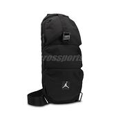 Nike 斜背包 Jordan Crossbody Shoulder Bag 黑 白 男女款 喬丹 側背 肩背 運動休閒 【ACS】 JD2113014AD-001
