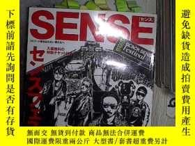 二手書博民逛書店日文書:SENSE罕見2014 3Y261116
