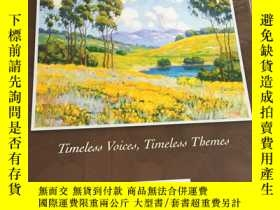 二手書博民逛書店Prentice罕見Hall Literature Timeless Voicess Timeless Theme