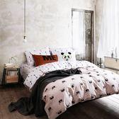 ✰雙人鋪棉床包兩用被四件組✰100%精梳純棉(5×6.2尺)《吉娃娃》