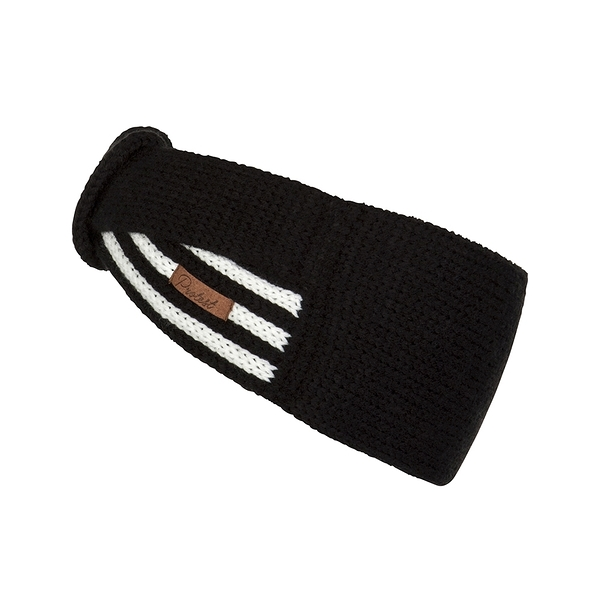 PROTEST 頭帶 (真實黑) BLACKOUT KNITTED HEADBAND