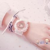 電子錶 女學生網紅手錶女ins風電子錶女韓版少女兒童防水運動多功能 9色 雙12提前購