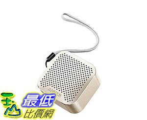 [106美國直購] Anker Bluetooth Wireless Speaker with Big Sound and Hands-Free Calling -Gold 扬声器