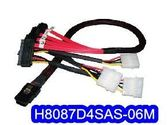 H8087D4SAS-0.6M  SAS / SATA 排線