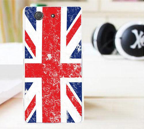 ✿ 3C膜露露 ✿ 【輕立體浮雕軟殼*國旗】Sony Xperia Z3 Compact / Z3mini 手機殼 手機套 保護套 保護殼