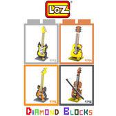 摩比小兔~ LOZ 鑽石積木 9139 - 9196 樂器系列 益智玩具 趣味 腦力激盪