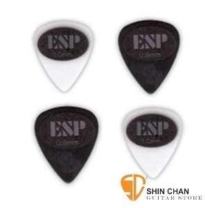 ESP TEAR RUBBER 電吉他專用彈片Pick(四片組) 【PT-10AL10/PT-08AL10】
