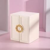 首飾盒歐式婚禮多層飾品珠寶項鏈盒戒指耳釘收納盒【聚寶屋】