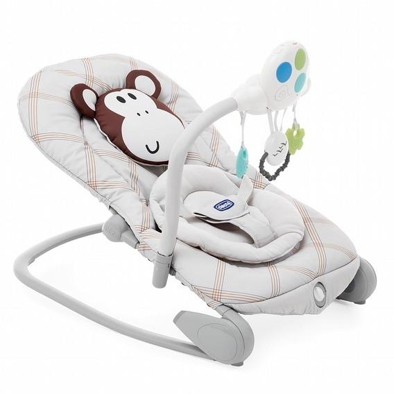 【愛吾兒】Chicco Balloon 安撫搖椅/躺椅探險版-小猴子 (CBA79652.33)