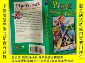 二手書博民逛書店Pippi罕見Goes on board:皮皮開船了Y200392